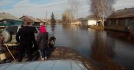 Паводок в Омской области: подтоплены семь районов