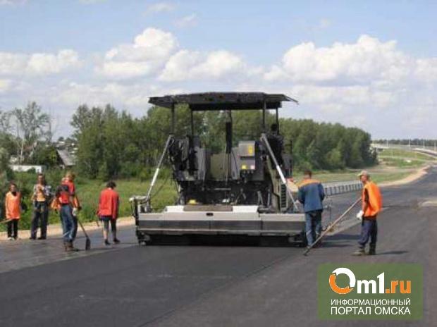 Омскую окружную дорогу строят в трех местах одновременно