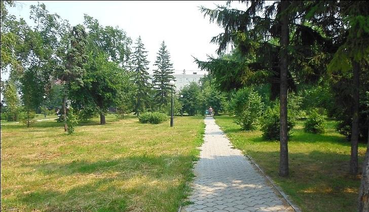В омском парке Победы хотят построить санаторий