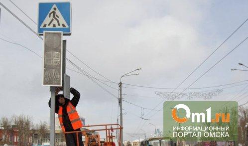 Омские дорожники довели до ума двустороннее движение на 20 лет РККА