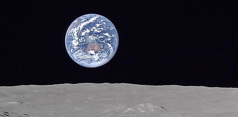 Видна каждая деталь: астронавты поделились высококачественными фотографиями с Луны