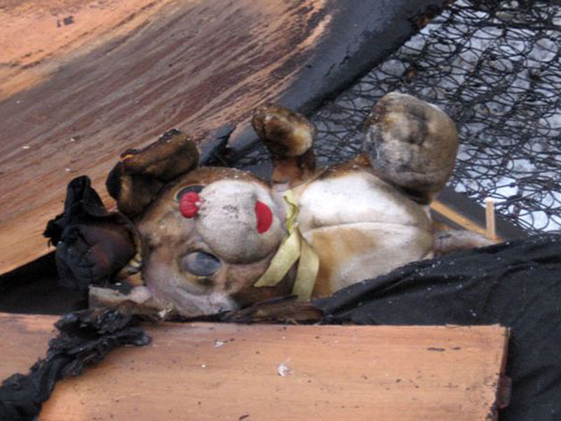 В Омской области во время пожара погиб трехлетний мальчик