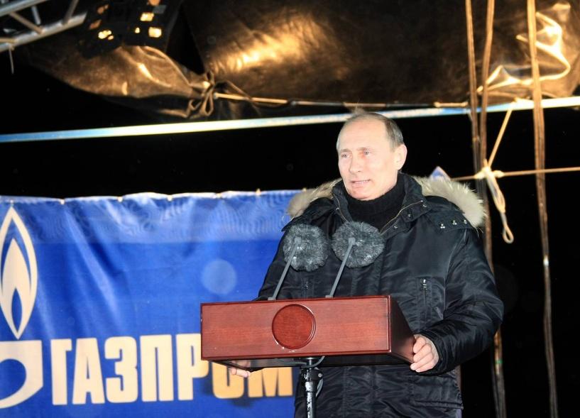 Россия резко увеличила объемы поставок газа в Европу