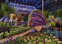 Крупнейшая в мире выставка цветов открылась в Филадельфии