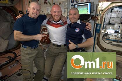 Американские астронавты побрились наголо из-за поражения США на ЧМ-2014
