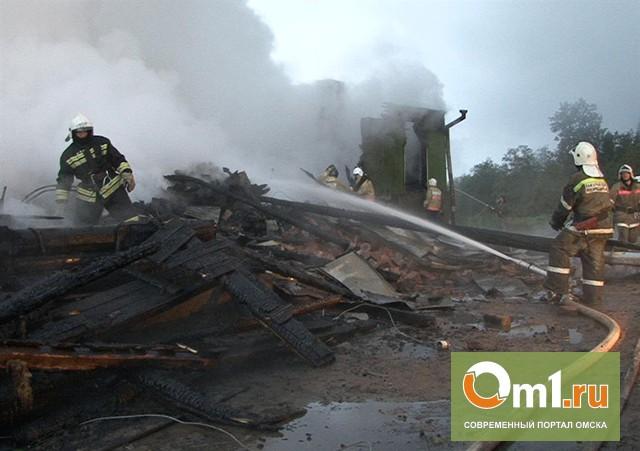 В Омске на месте пожара обнаружено тело 38-летней женщины