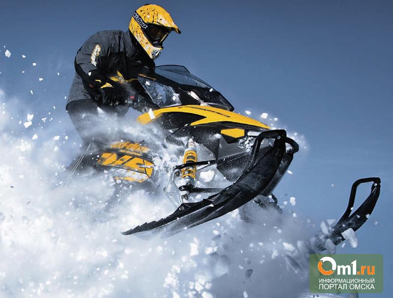 Омские министры неравнодушны к снегоходам