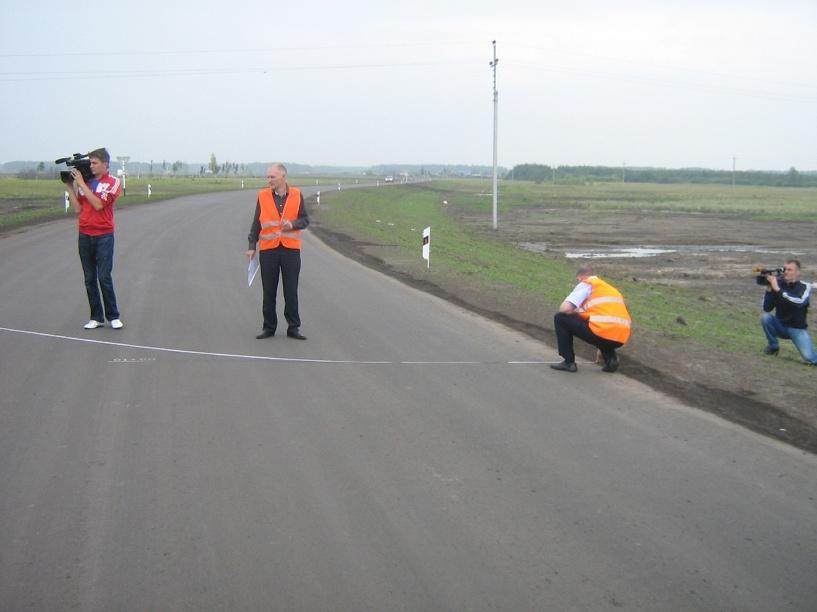 Под Омском открыли новую автодорогу