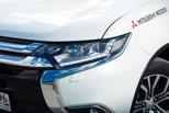 На букву «Х». Первый взгляд на обновленный Mitsubishi Outlander