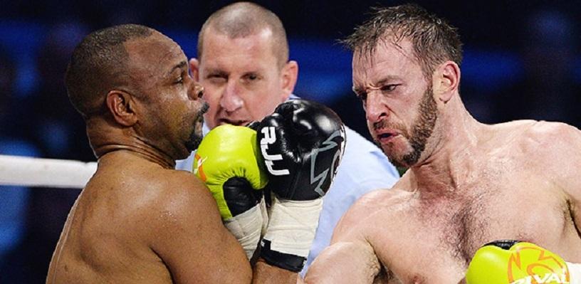 Рой Джонс проиграл Энцо Маккаринелли в первом бою под флагом России