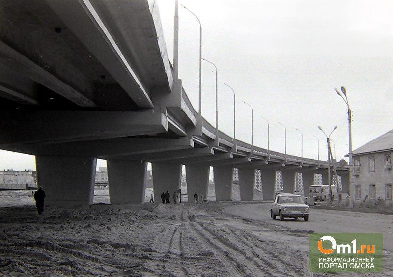 Омские власти отчитались о строительстве транспортных развязок