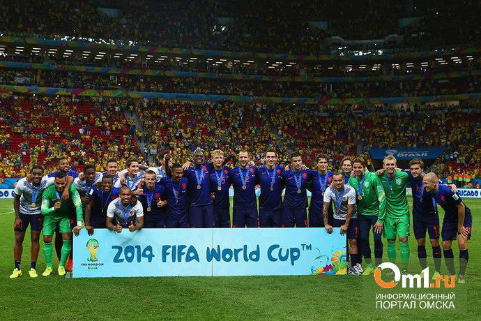 Сборная Нидерландов по футболу завоевала бронзу на ЧМ-2014