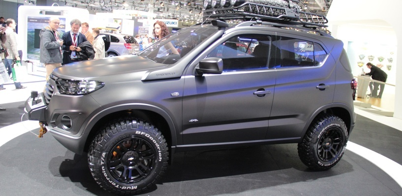 Заморожена, но жива: опубликованы патентные изображения Chevrolet Niva II поколения