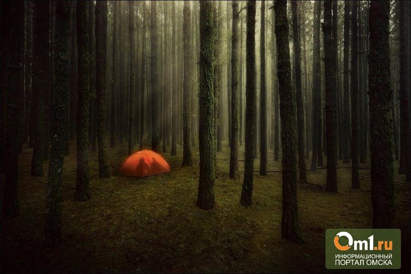В Омске две девочки-подростки взяли кастрюлю и палатку и ушли из дома