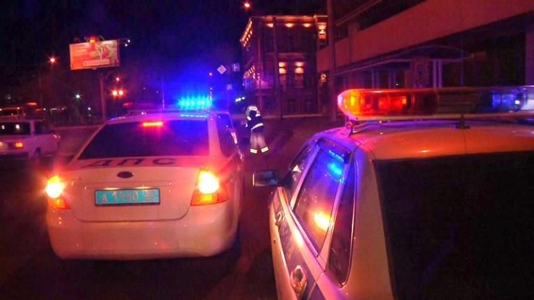 Ночная погоня: омские автополицейские ловили нетрезвого водителя