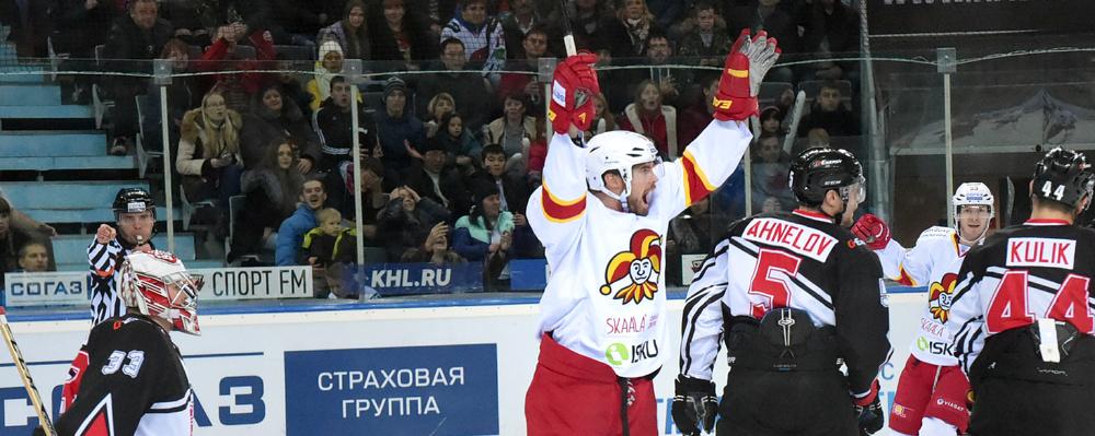 Омский «Авангард» потерпел третье поражение подряд