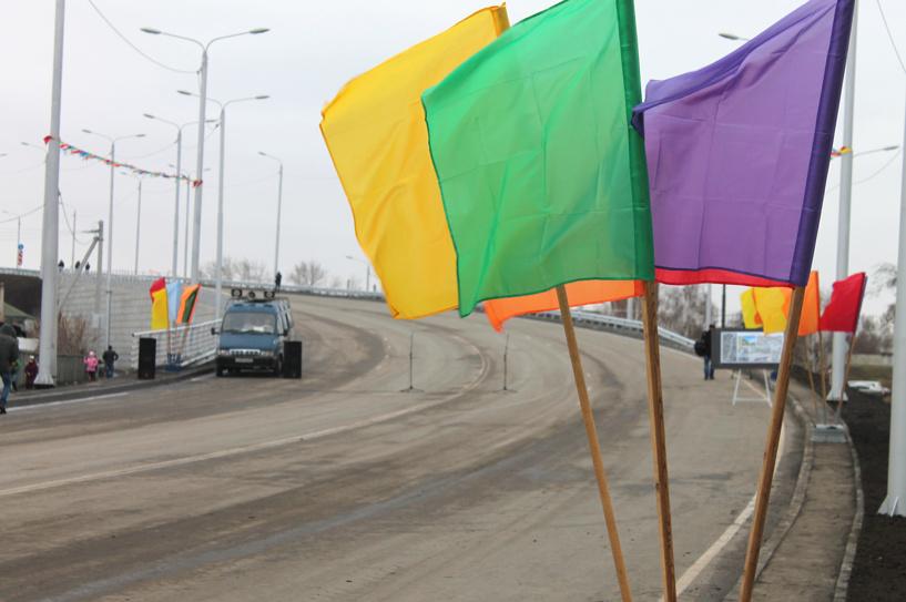 Репортаж. Состоялось открытие путепровода на Торговой в Омске