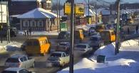 В Омске на опасном перекрестке 7-й Северной-Герцена отрегулировали светофор