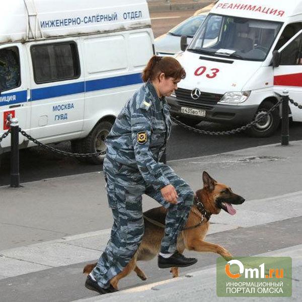 В Омске «заминировали» отделение «Сбербанка»