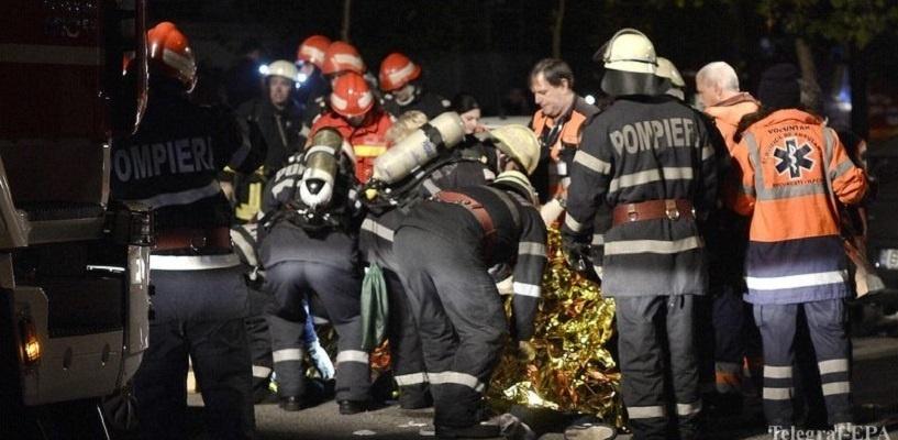 В ночном клубе Бухареста взорвался фейерверк: 27 человек погибли, еще 180 пострадали