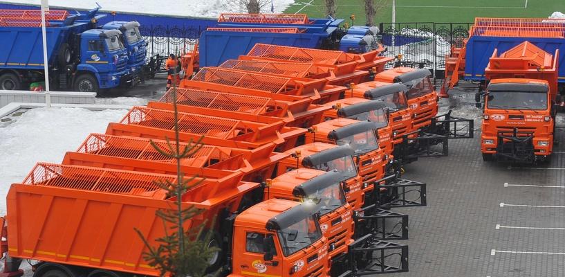 Омская область получила более 30 новых машин для содержания дорог