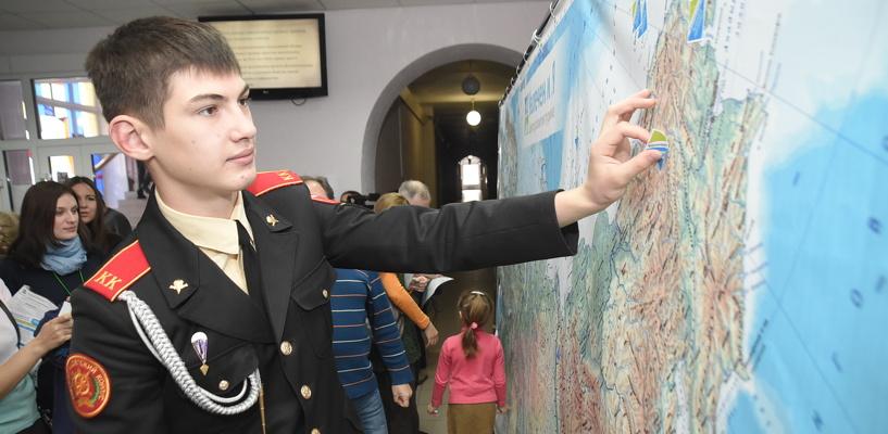 В Омске «Географический диктант» написали около 600 человек