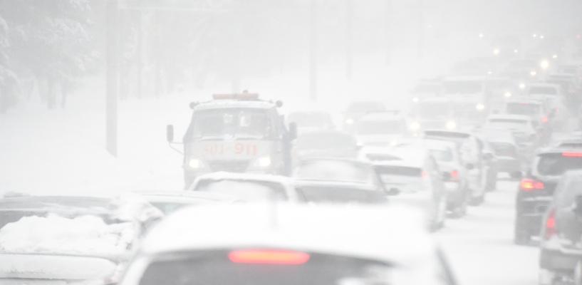 Мэрия Омска оперативно отреагировала на сегодняшний снегопад