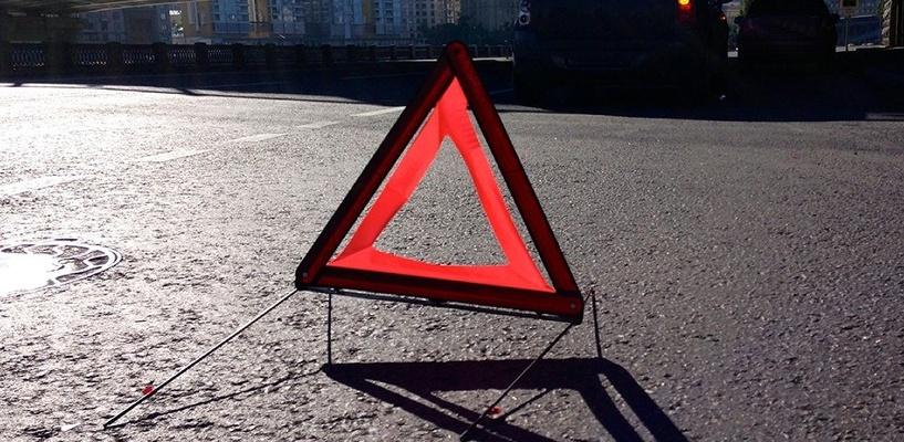 В Омске пенсионер на иномарке сбил двух женщин на «зебре»