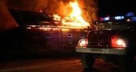 При пожаре в Омской области погиб 2-летний ребенок (обновлено)