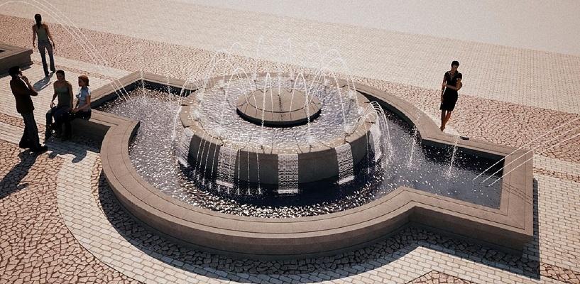 Перед Омским цирком появится двухуровневый фонтан за 18 млн рублей