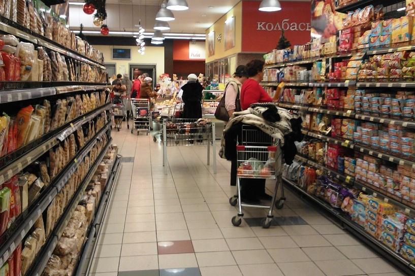 Годовая инфляция в России снизилась впервые с начала года