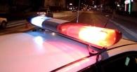 В Омске ночью водитель без прав пытался скрыться на иномарке от полиции