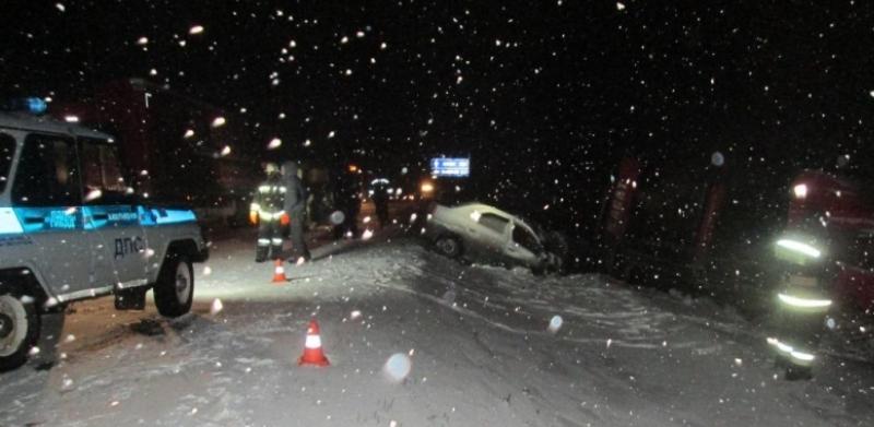 На трассе Тюмень – Омск в лобовой аварии погибли три человека