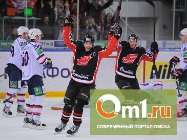 Омский «Авангард» закончил выездную серию очередной победой