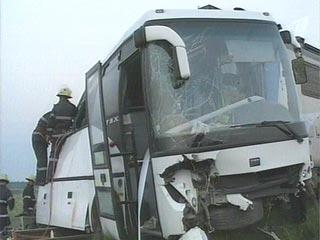 Во Франции автобус с туристами из России попал в ДТП