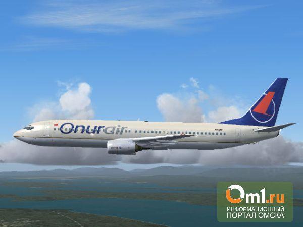 Из Омска можно будет улететь прямым рейсом в Анталью