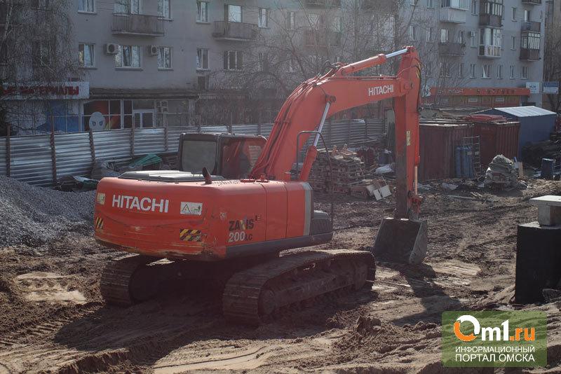 В центре Омска сделают транспортный узел