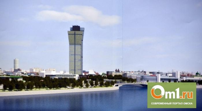 В Омске 45-этажный отель построят рядом с музеем