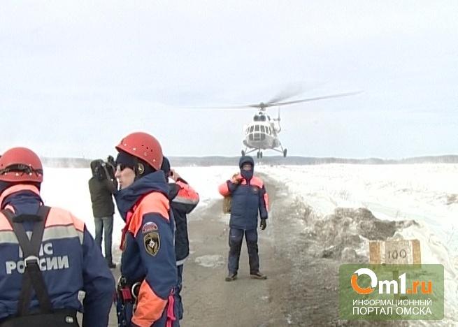 Омские спасатели подготовили план действий на случай паводка