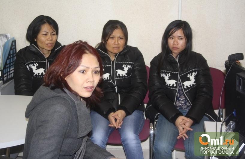 В Новосибирском Толмачево задержали тайских рабынь из Омска