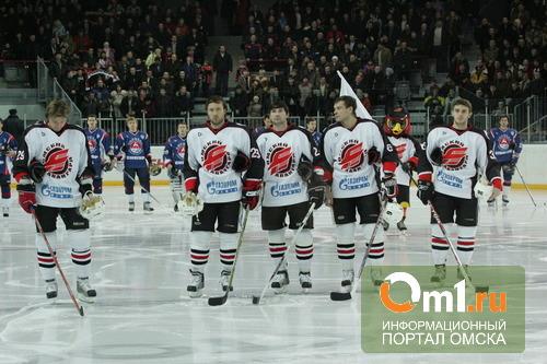 «Омские ястребы» уступили москвичам в третьем матче финала