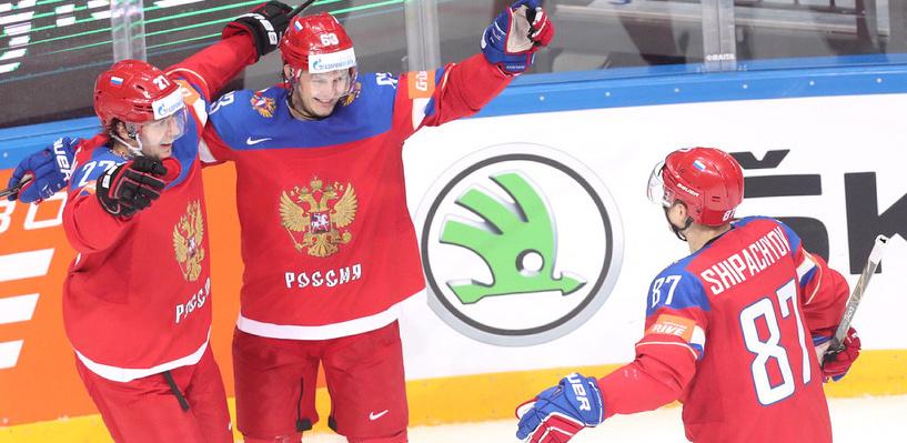 На шаг ближе к финалу: Россия переиграла Германию в четвертьфинале ЧМ по хоккею