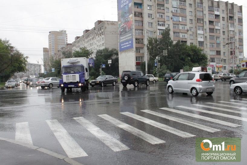 В Омске на перекрестке Кемеровской и Красного Пути слышали выстрелы
