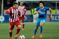 «Зенит» не смог дома выиграть у «Атлетико»