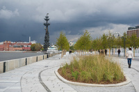 В Москве открыли обновленную Крымскую набережную