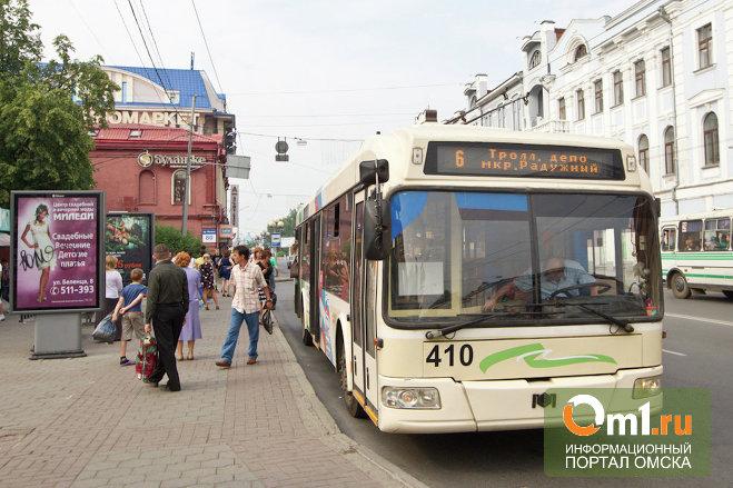 Омичка, которую троллейбус протащил по дороге, получит 20 тысяч рублей