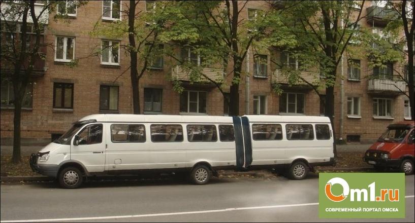В Омске пассажиров перевозят аварийные «Газели»