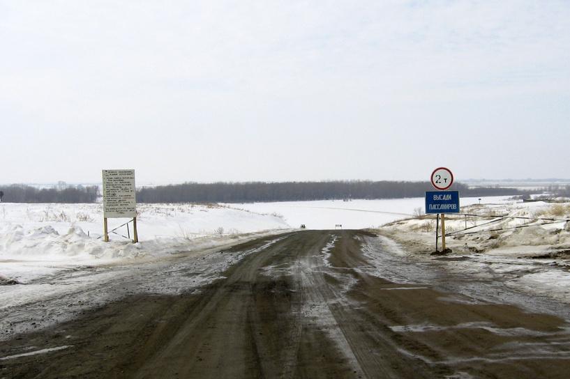 В Омской области готовят к открытию ледовые переправы