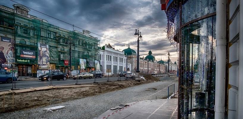 Пятничный ливень затопил подвалы на улице Ленина