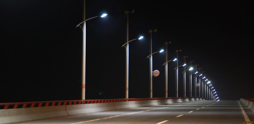 На Левом берегу Омска появилась новая светлая улица